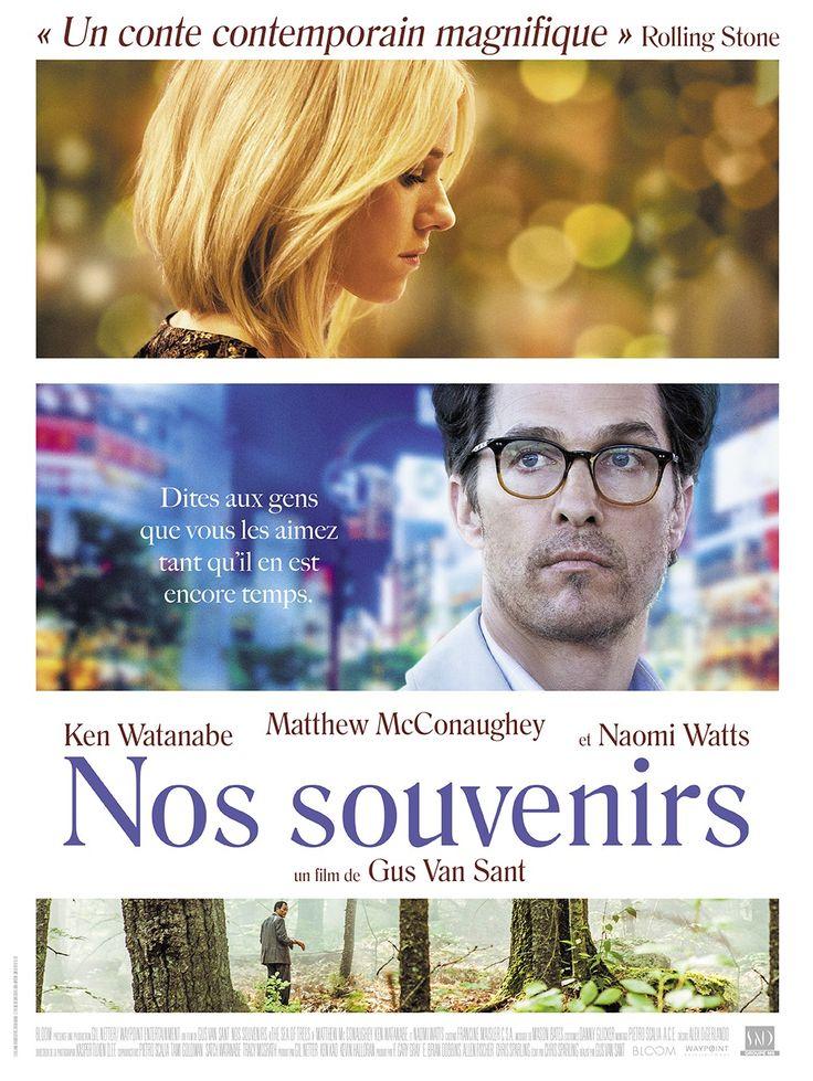 Nos Souvenirs (2016) Director : Gus Van Sant Stars : Niomi Watts, Ken Watanabe, Matthew McConaughey