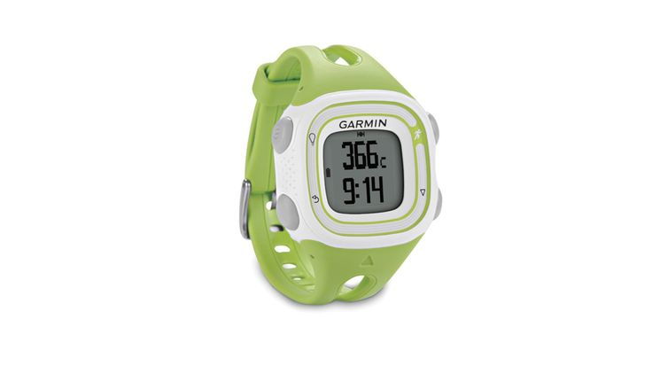 The lightweight Garmin Forerunner 10 GPS Watch includes a 1.25 inch display face and is on a trendy 6-inch green and white band. Forerunner 10 GPS running watch not only tracks speed, pace, distance and calories but with one push of a button you will see your time and distance as you work on one screen while your speed and calories are displayed on another.  Read more: http://www.techgetsoft.com/garmin-forerunner-10-gps-watch-review-1138.html/#ixzz398dQVRrt