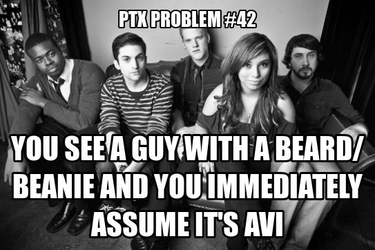 #42 Well, I don't assume it's Avi himself... just reminds me of Avi right away. XD YASSS!