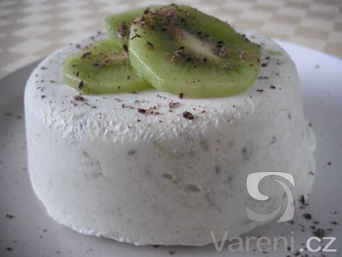 Domácí zmrzlina z kiwi -