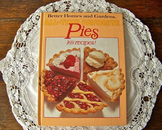 Vintage Pies Cookbook Better Homes and Gardens 1978 First