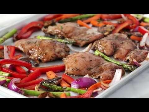 Best 25 recipe sites ideas on pinterest baked dressing recipe balsamic chicken with roasted vegetable recipe skinnytaste forumfinder Gallery