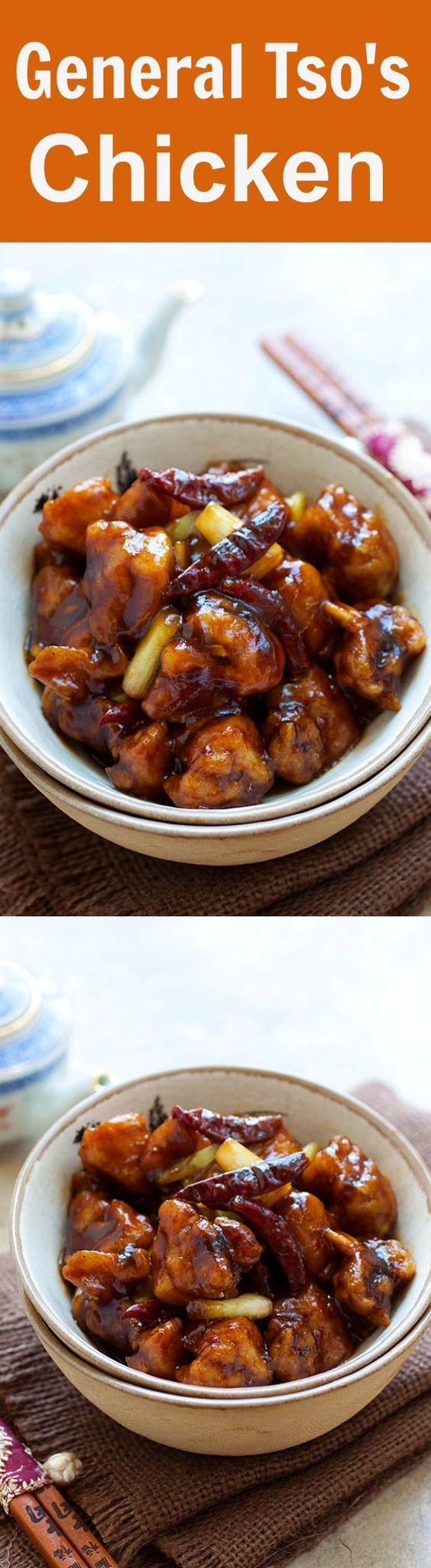 http://rasamalaysia.com/general-tsos-chicken/[EXTRACT]                     General Tso's Chicken Recipe. You can make your favorite Chinese dish at home with this eays, fool-proof, guaranteed to please recipe! rasamalaysia.com