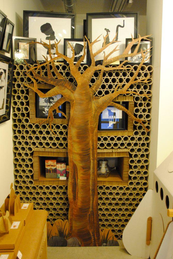 Baobab de cartón