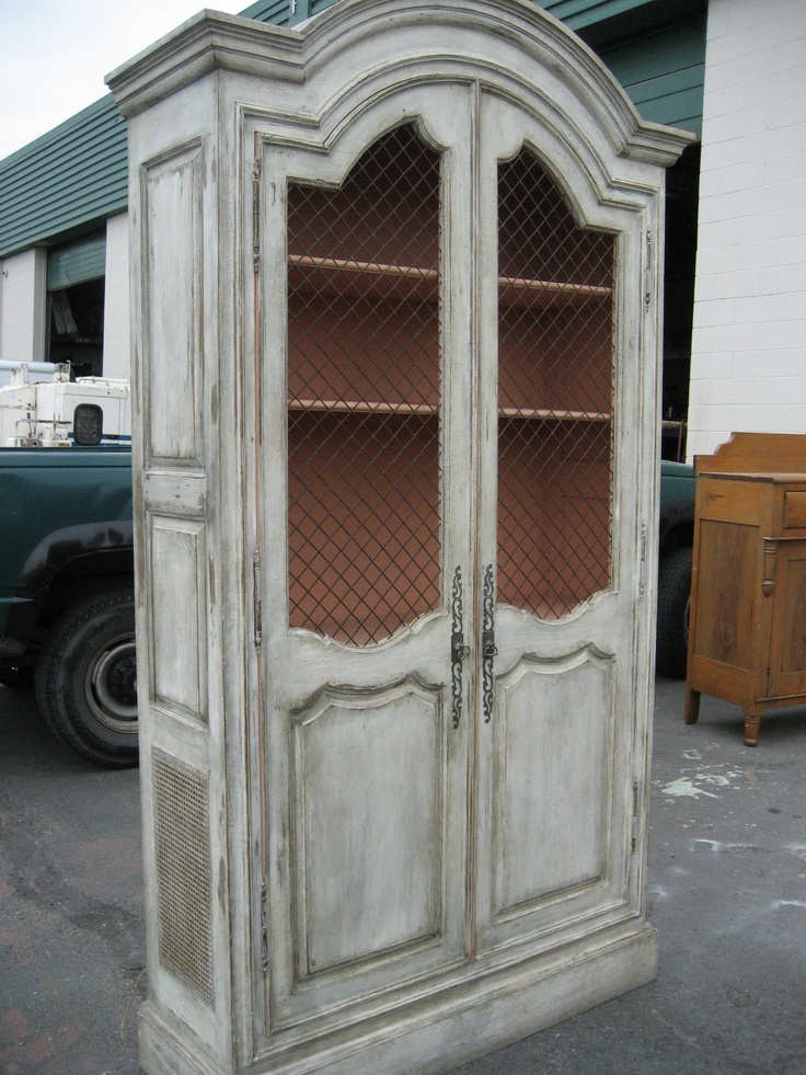 White Distressed Armoire Armoires Amp Cabinets White