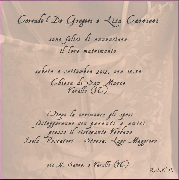 Testo Invito Matrimonio Cerca Con Google Wedding Invitations Invitations Wedding Styles