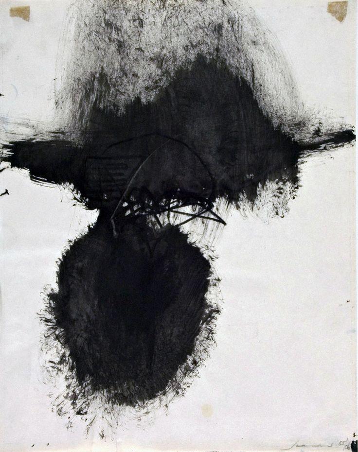 Emilio Scanavino - Untitled (1956)
