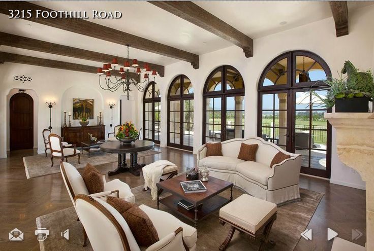 Spanish Colonial - Living Room
