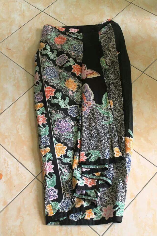 Skirt bawahan batik