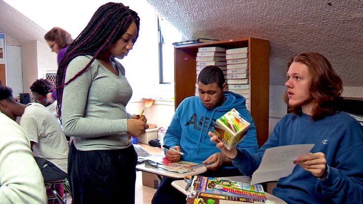 At University Park Campus School, students learn through group work that they have something to contribute.