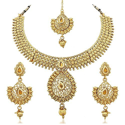 Ethnic Indian Bollywood Traditional Gold Plated Wedding W... https://www.amazon.com/dp/B06Y62B8PD/ref=cm_sw_r_pi_dp_x_D4j7yb5P61S71