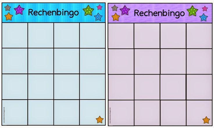 Mathe in der Grundschule: Spielfelder fürs Rechenbingo