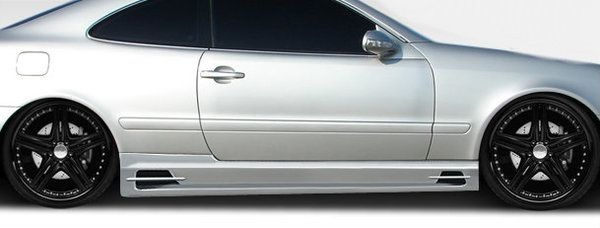 Duraflex 98-02 Mercedes CLK W208 BR-T Side Skirts Rocker Panels Kit