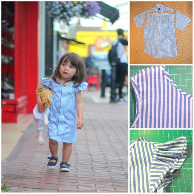 Como transformar camisas velhas em lindos vestidos