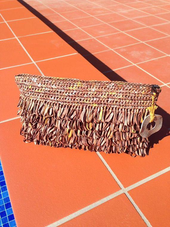 Brown Clutch Bag