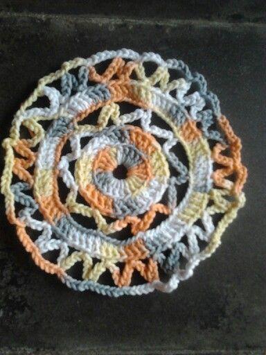 Crochey doily #9