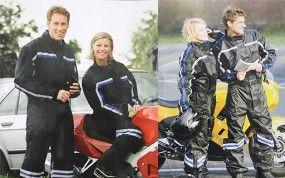 TOPTEX Motorrad Regenoverall