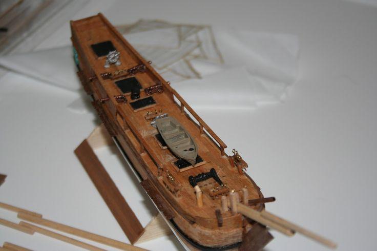 HMS Bounty, the deck