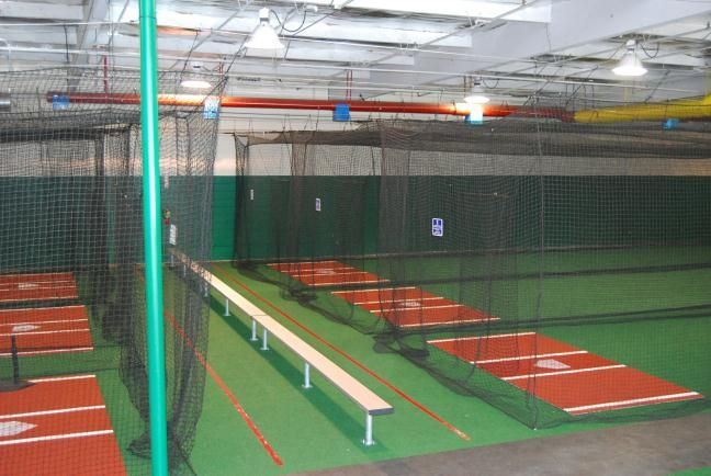 17 best images about indoor batting cages on pinterest for Design indoor baseball facility