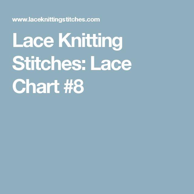 Lace Knitting Stitches: Lace Chart #8