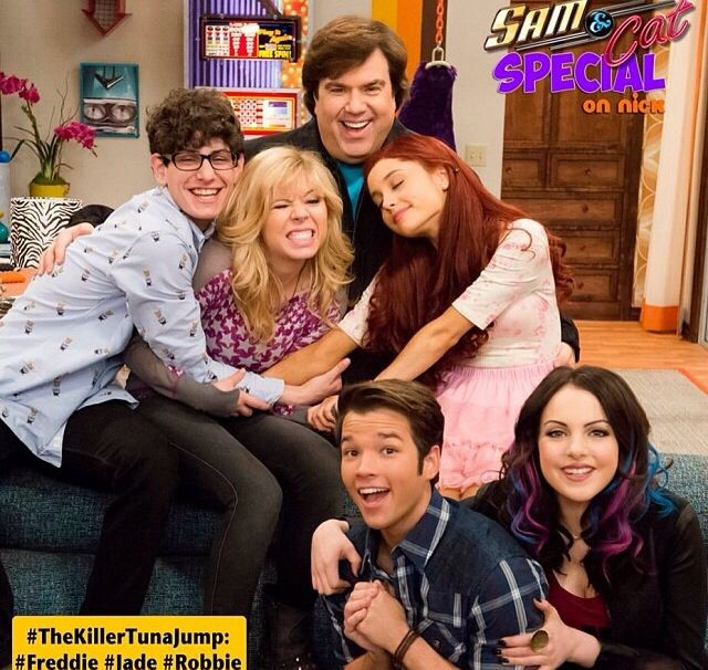 Ariana Grande Sam and cat can't wait for this episode !