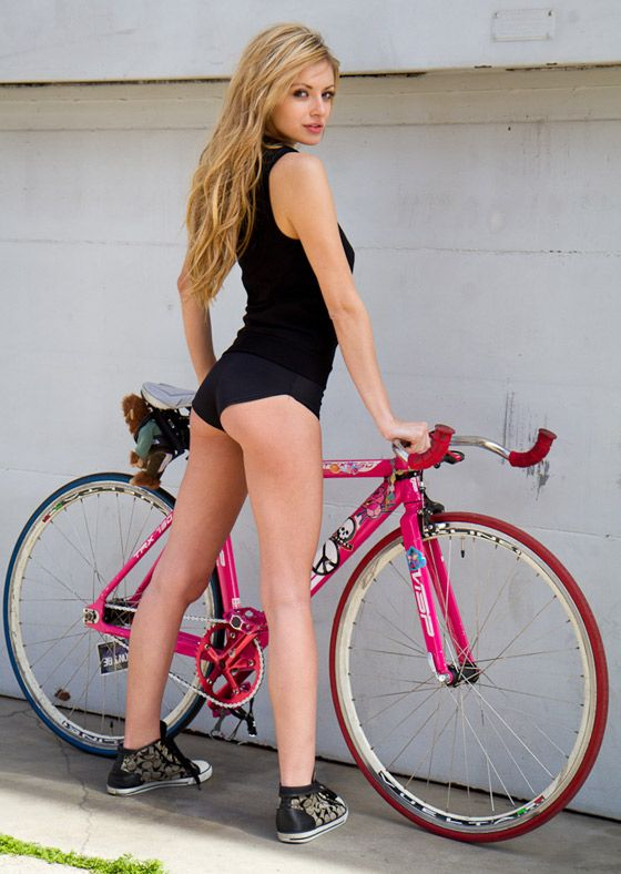 225 Photos Of Sexy Girls Riding Bicycles  Sexy, Fixie And -1641