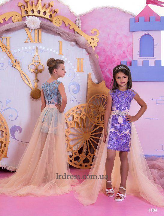 Детские вечерние платья-трансформеры