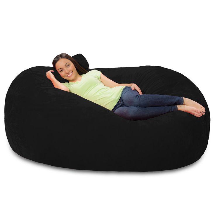 6 Foot Bean Bag Lounger - 6 Foot Bean Bag Couch