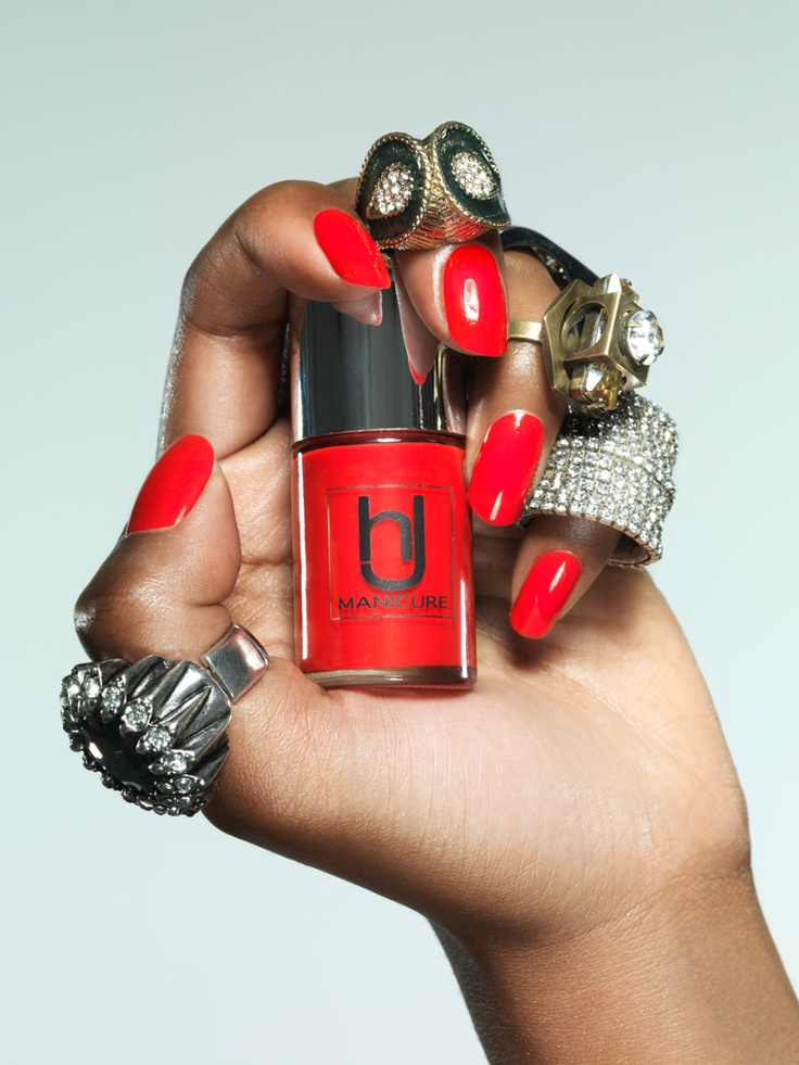 Our classic red polish!