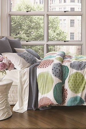 Fun and versatile 100% cotton duvet cover set is the perfect item this Summer to add a bit of colour to your bedroom.