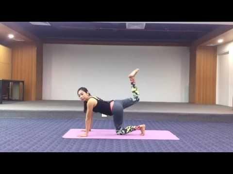 Hướng dẫn tập GIẢM MỠ BỤNG, TĂNG VÒNG 3, EO THON - Cô gái Vàng Yoga Việt...
