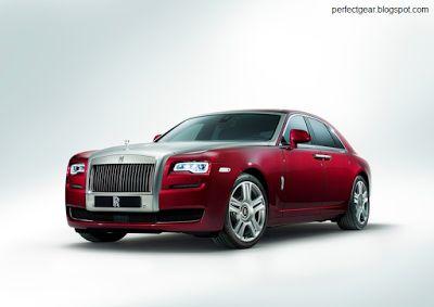 PERFECT GEAR: Rolls Royce Ghost Series II 2015
