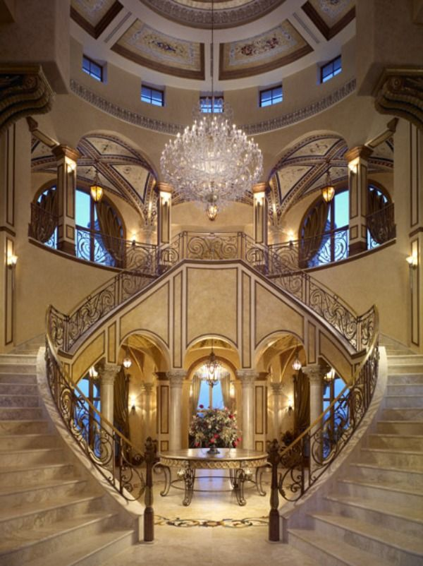 Best 7 Best Double Staircase Images On Pinterest Dream Houses 400 x 300