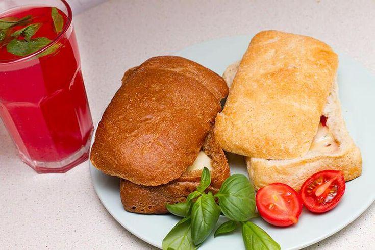 Чиабатта с моцареллой – легко, вкусно и изысканно
