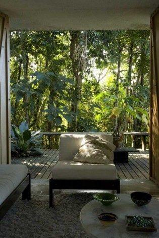 (Através de Projetos 127,01 Viver NA FLORESTA: Residência Vianna Peres | Vitrúvio)