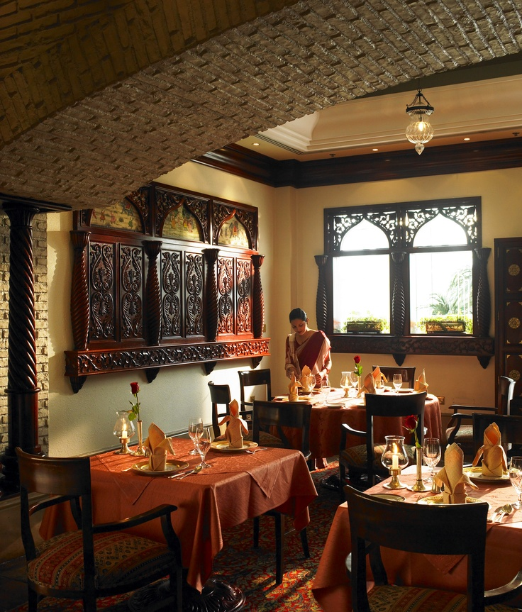 Taj Rasoi Restaurant at the Doha Marriott Hotel