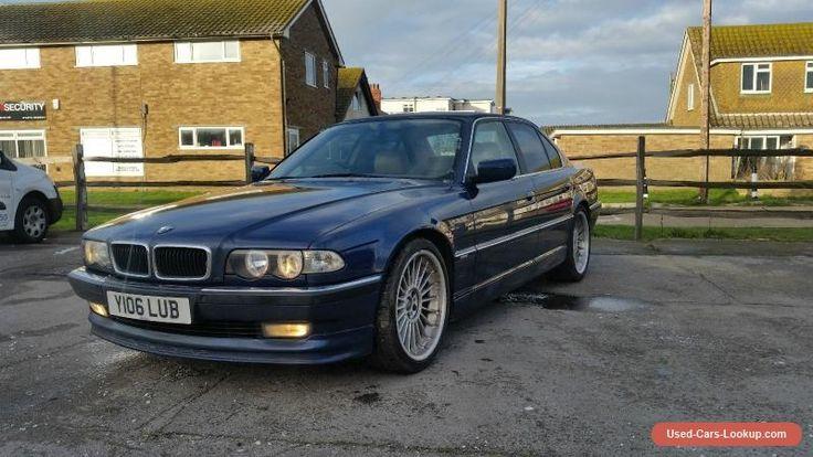 2001 BMW 728I AUTO BLUE Genuine Alpina wheels  #bmw #728iauto #forsale #unitedkingdom