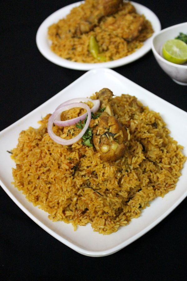 Chicken pulao or chicken tahari is a delicious chicken rice recipe made using chicken and rice mixed together by adding aromatic spices into it.