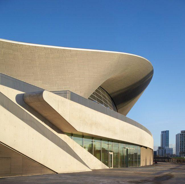 Zaha Hadid Architects complete London Aquatics Centre