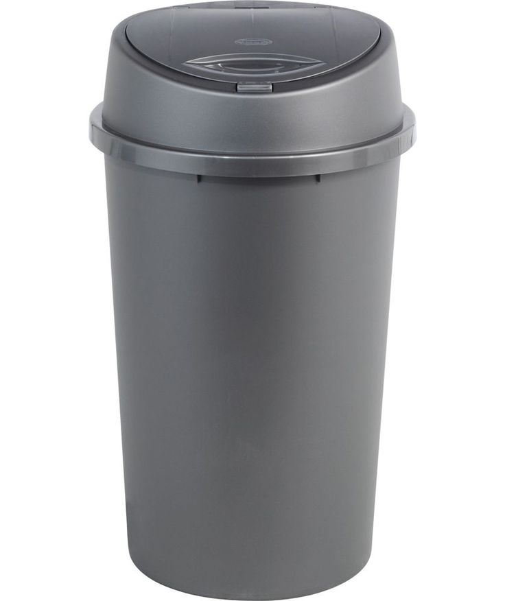 Buy 45 Litre Touch Top Kitchen Bin - Silver at Argos.co.uk - Your Online Shop for Kitchen bins.