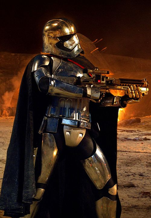 Captain Phasma in 'The Force Awakens'