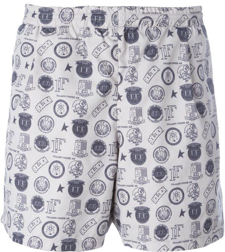 Golden Goose Deluxe Brand 'Greg' reversible swim shorts