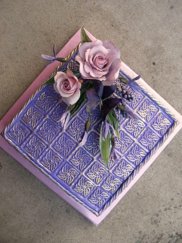 Purple cake Kvetinová vo fialovej