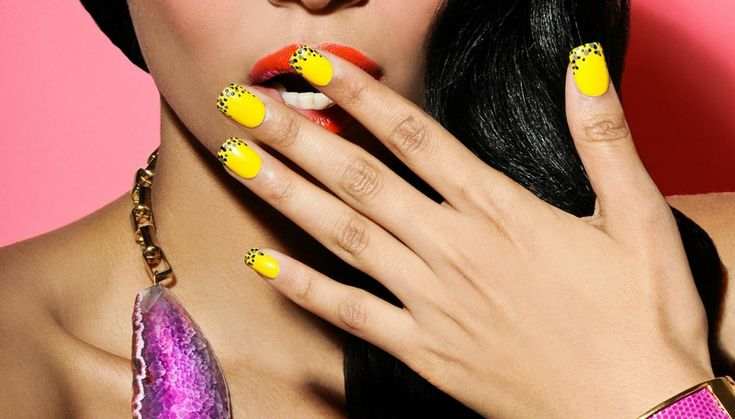 Nageldesign » Sommer-Nagel Design – 25 Ideen für süß verspielte Fingernägel ,  #design #fingernagel #ideen #nagel #nageldesign