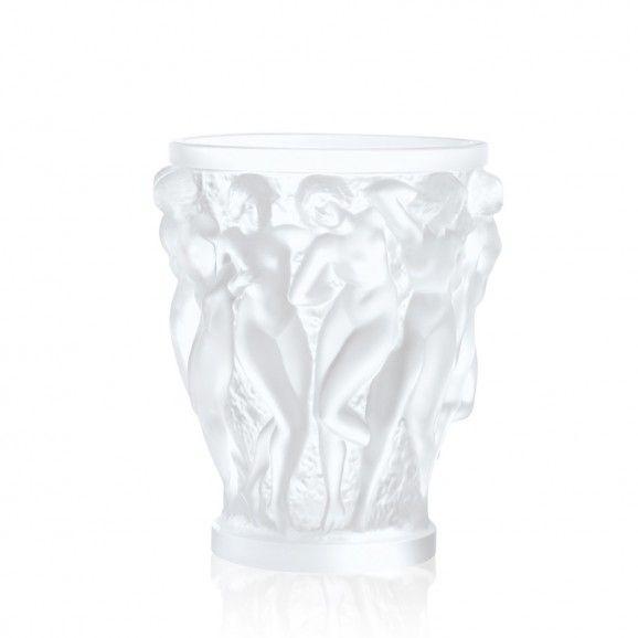 Lalique Bacchantes Vase Clear
