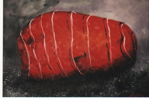 Boundage. Oil on canvas