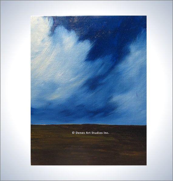 Original oil painting on a canvas board by DenesArtStudiosInc