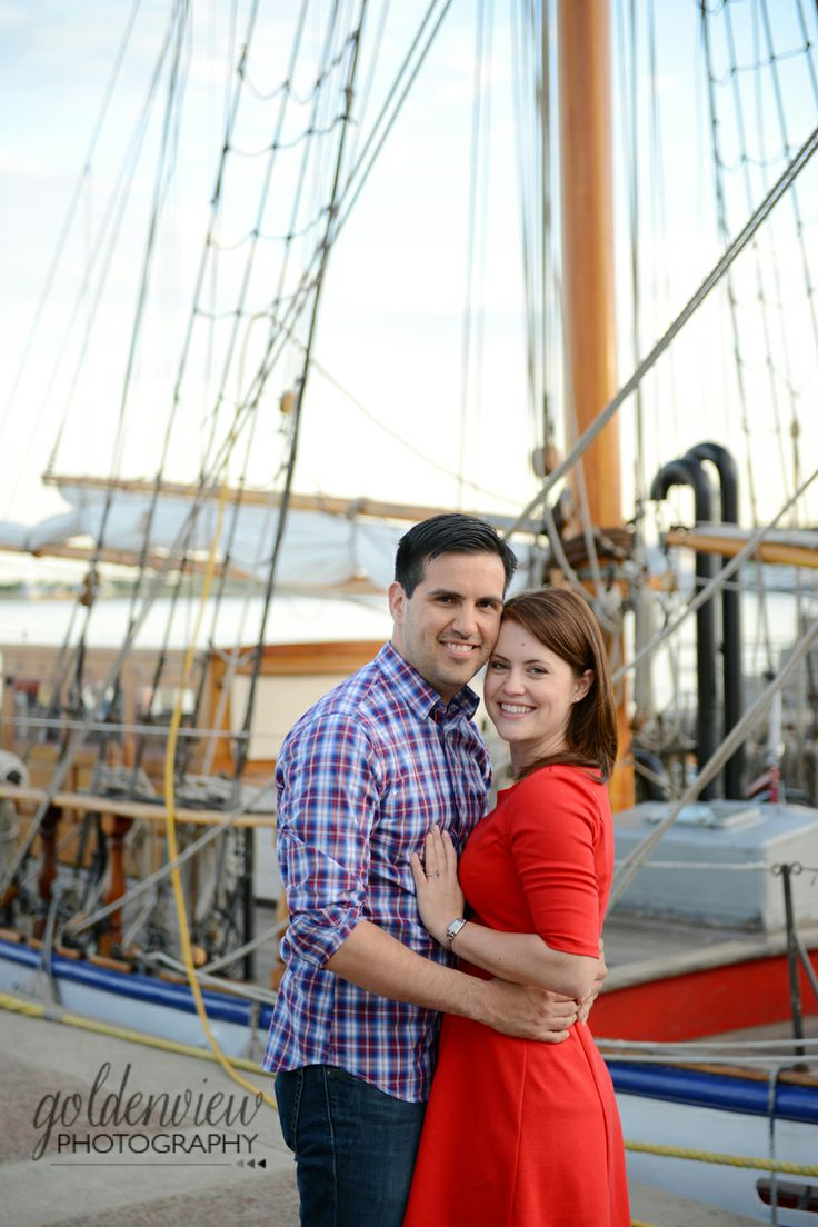 Nautical Engagement Photos | Toronto Engagement Photographer | Goldenview Photography