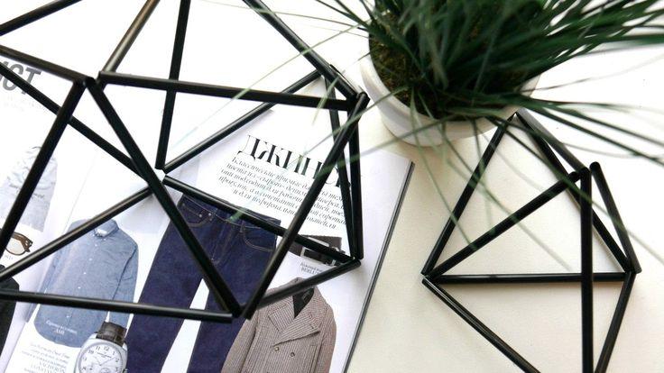 Модный декор для дома своими руками | Геометрические фигуры