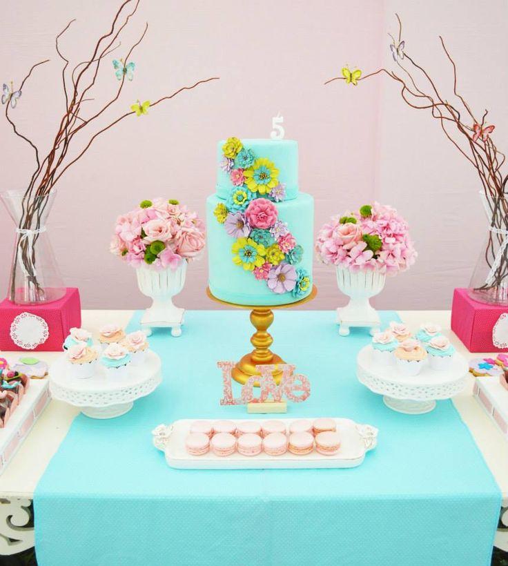 Enchanted Garden Party / Bird Theme / #babyshowerideas Baby shower ideas for boy or girl